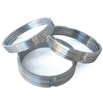 Aluminum Barrel Spacers - set of 4 (specify size)
