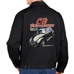 Black CB Speed Shop Ragtop Dickies Jacket (specify size)