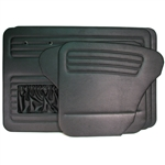 Door Panels - Complete Kit (set of 4) Black (specify year)