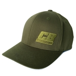 OD Green Flexfit Hat - CB Performance Logo (specify size)