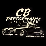CB Speed Shop Ghia T-shirt (specify size)
