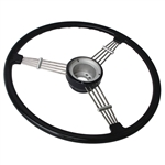 I-235b Flat4 Banjo Steering Wheel (black) 15 1/2""