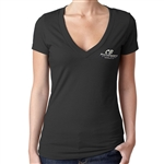 Ladies V-Neck CB Speed Shop Shirt (specify size)