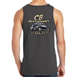 CB Speed Shop Mens Tank Top - Charcoal Grey (specify size)