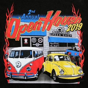 CB 2019 Open House T-shirt (specify size)