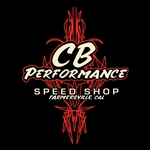 Pin Stripe CB Speed Shop T-shirt (specify size)