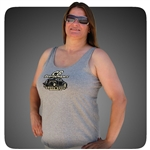 CB Speed Shop Cotton Swing Tank Top - Heathered Grey
